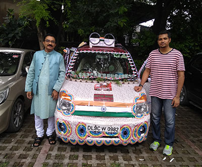 "Most ""decorated car"" awards in the world"