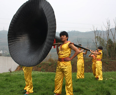 The biggest suona horn in the world